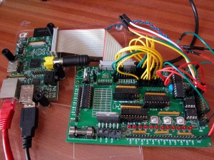 Gertboard with Raspberry Pi