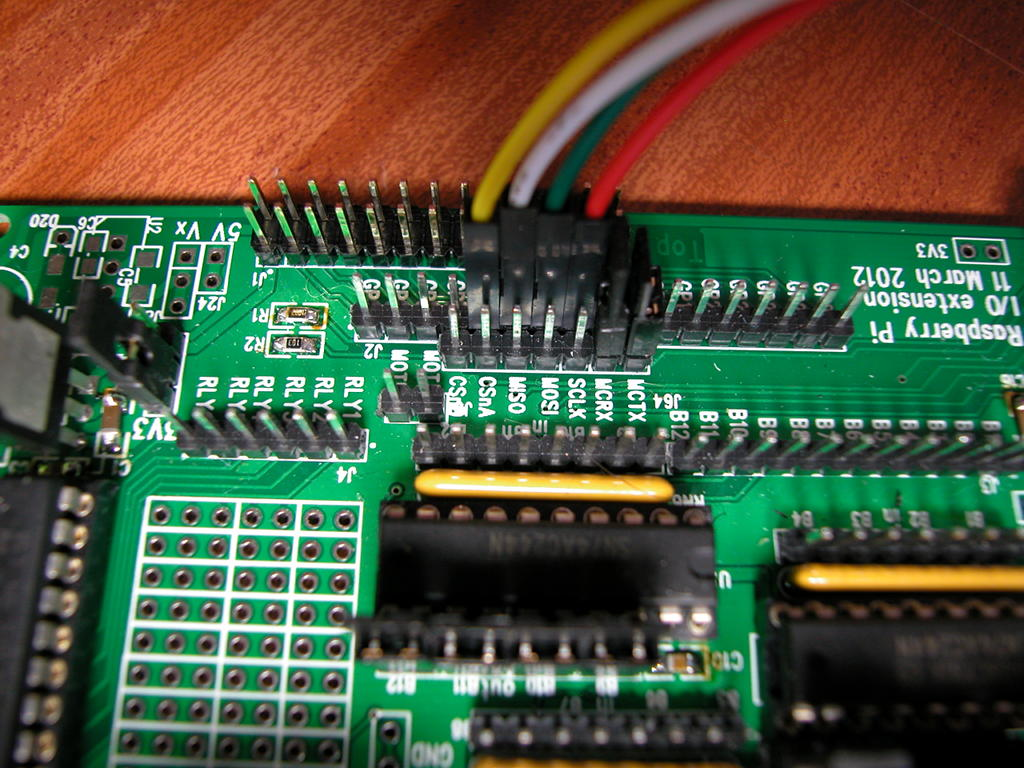 Initial Setup Of The Atmega Gordons Projects Programmer Usb Pcb Component Side Pis Gpio Programming Connections
