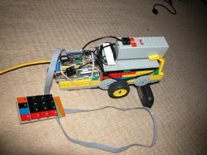 Lego PiTrak Mk.1