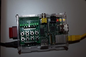 John Jays board on-top of a Pi
