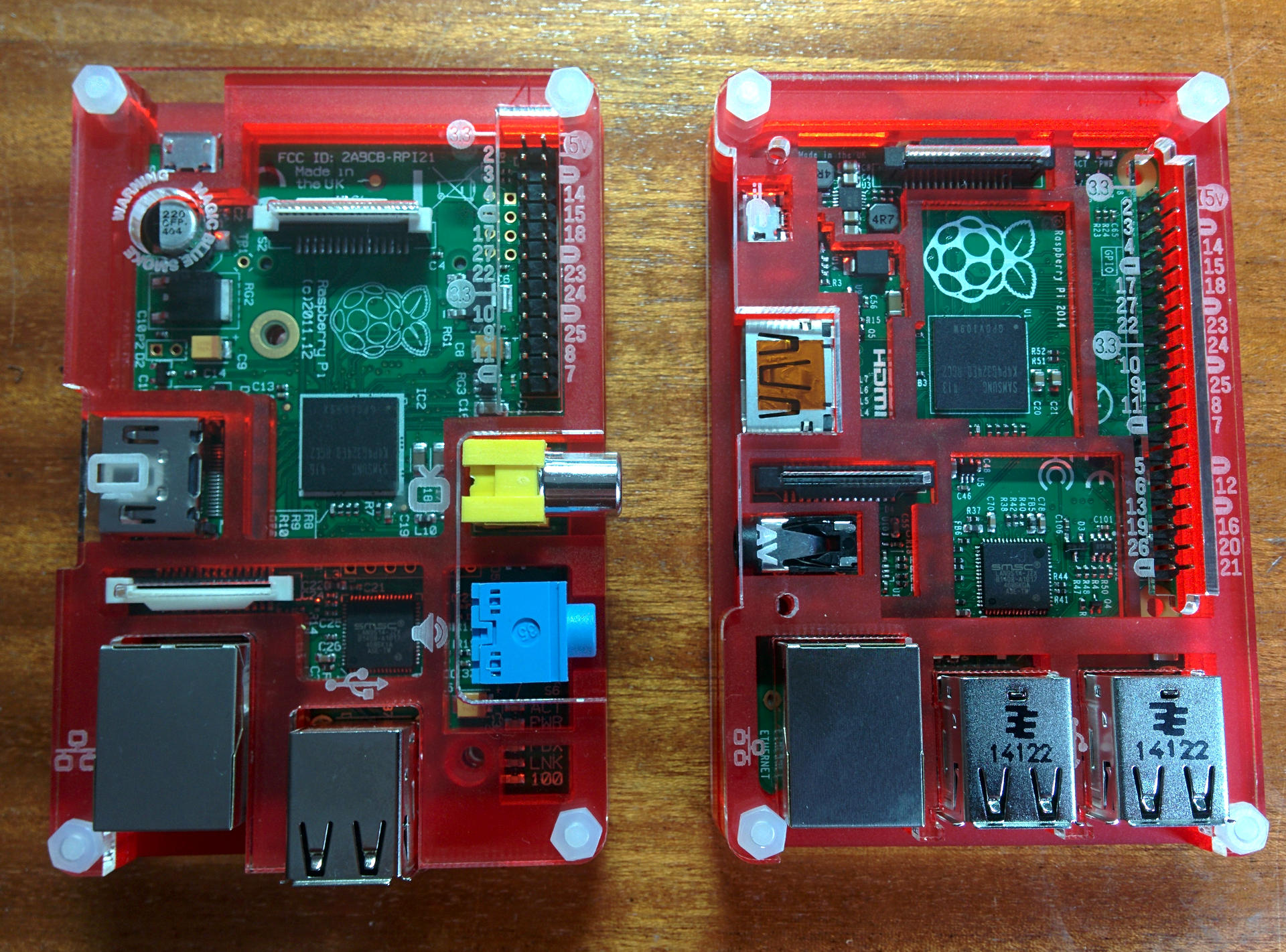 A Quick Look At The New Raspberry Pi Model B Gordons Projects Wiringpi Install